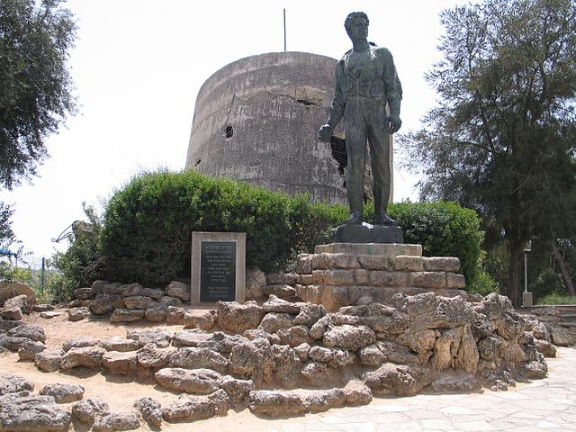 A Gaza rocket exploded near the Yad Mordechai kibbutz (pictured here) in southern Israel on Tuesday night. Credit: Bukvoed via Wikimedia Commons.