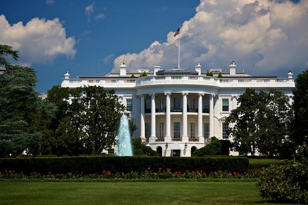 The White House. Credit:Zach Rudisinvia Wikimedia Commons.