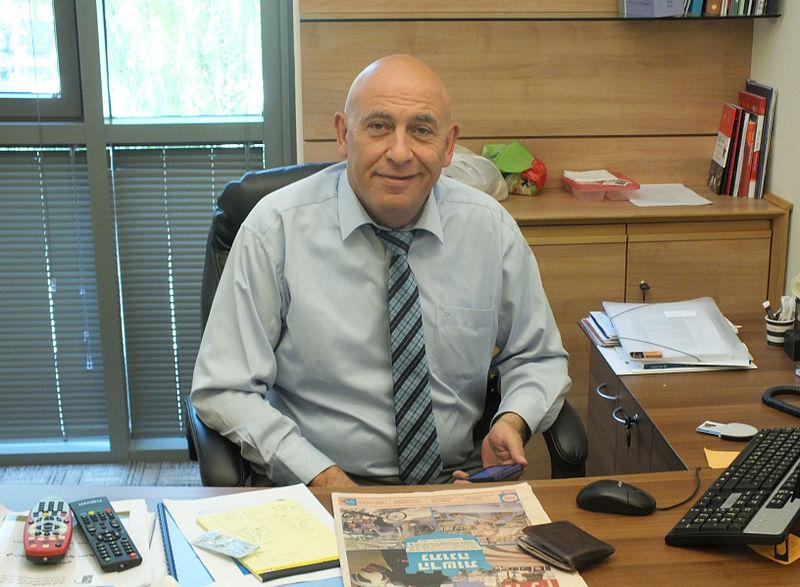 Israeli-Arab MK Basel Ghattas. Credit: Wikimedia Commons.