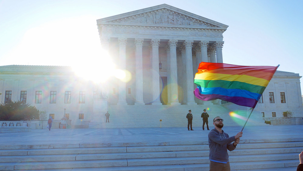 The Supreme Court has ruled in favor of legalized gay marriage in all 50 states, reigniting a debate about the impact of the decision on religious institutions. Credit: Ted Eytan via Flickr.