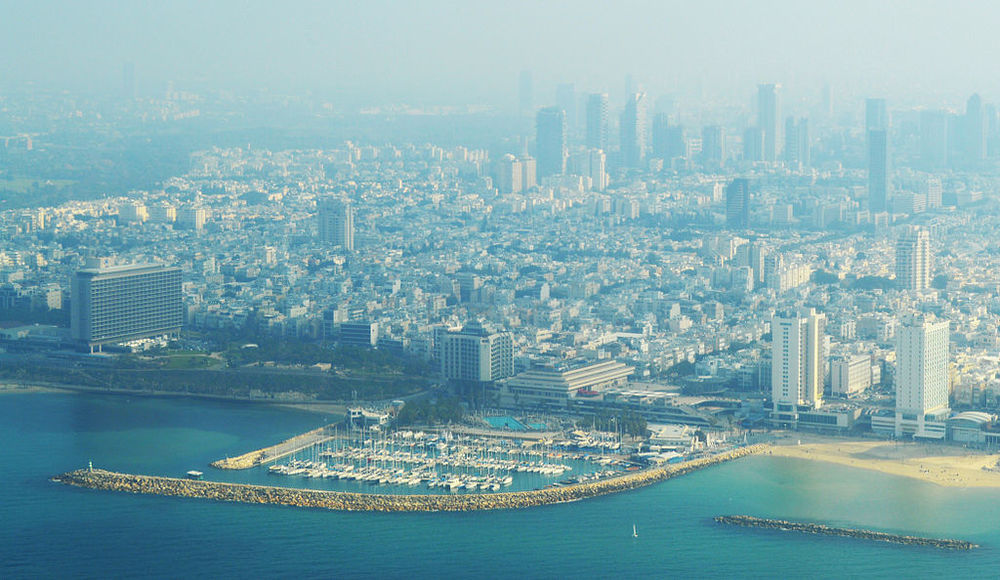 Tel Aviv. Credit: Amos Meron via Wikimedia Commons.