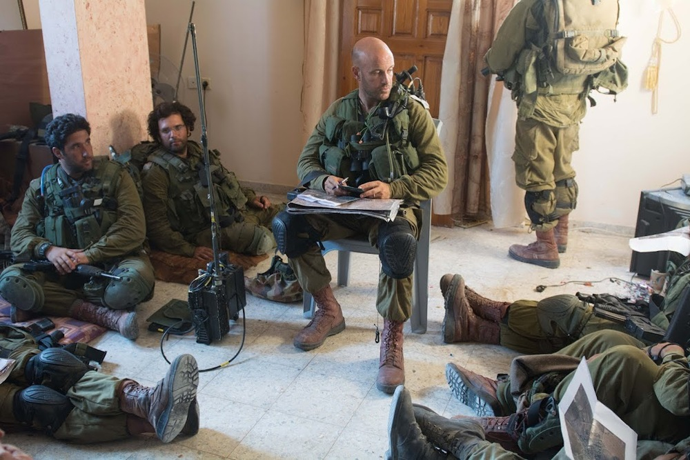 IDF soldiers in Gaza last summer. Credit: IDF.