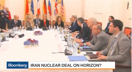 A deal between Iran and the P5+1 nations is likely delayed again until Tuesday. Credit: Screenshot from YouTube.