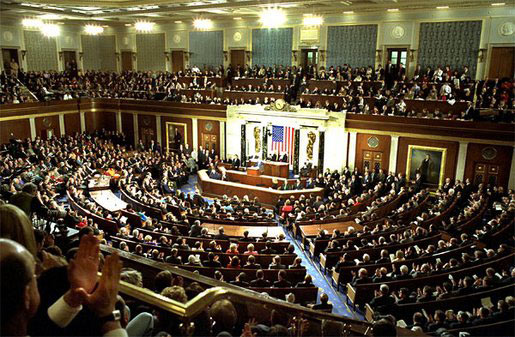The U.S. Congress. Credit: Wikimedia Commons.