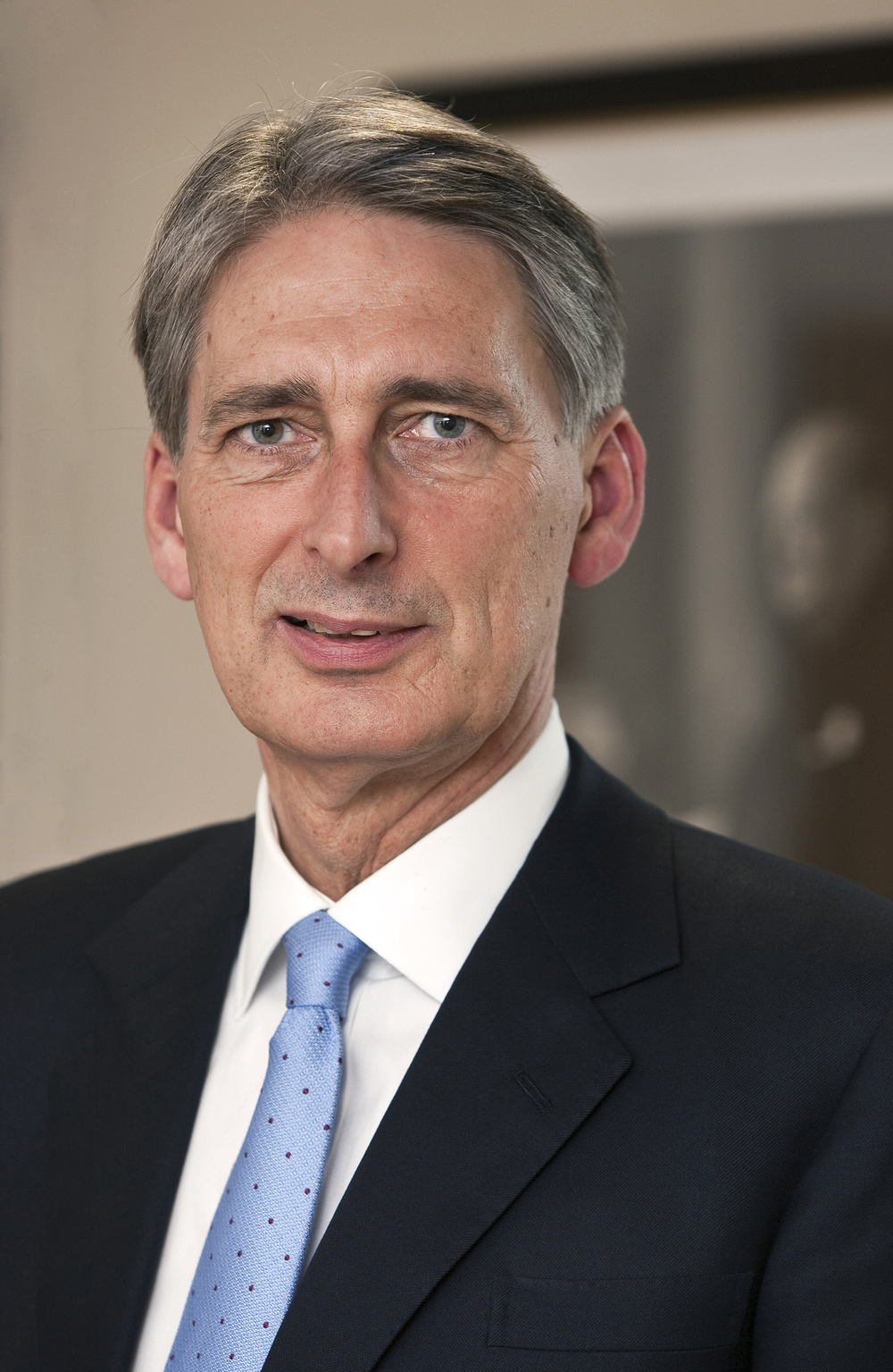 British Foreign Secretary Philip Hammond. Credit: Harland Quarrington, Ministry of Defence.