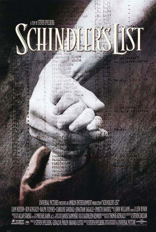 "A promotional poster for ""Schindler's List."" Credit: Catherine Chen via Flickr.com."