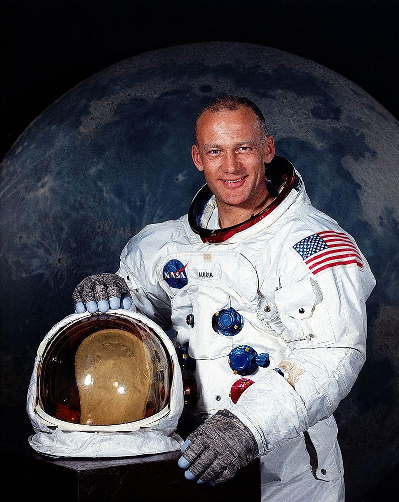 Buzz Aldrin. Credit: NASA.