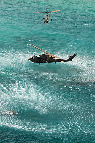 The Israeli Air Force's U.S.-made Cobra helicopters, which it renamed Tzefa. Credit: Israel Defense Forces.
