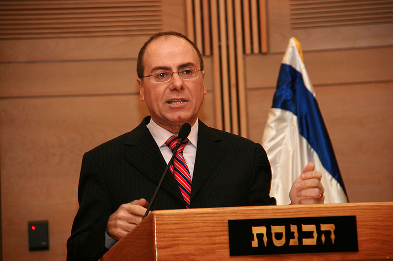 Israeli Interior Minister and Vice Prime Minister Silvan Shalom. Credit: Itzike via Wikimedia Commons.