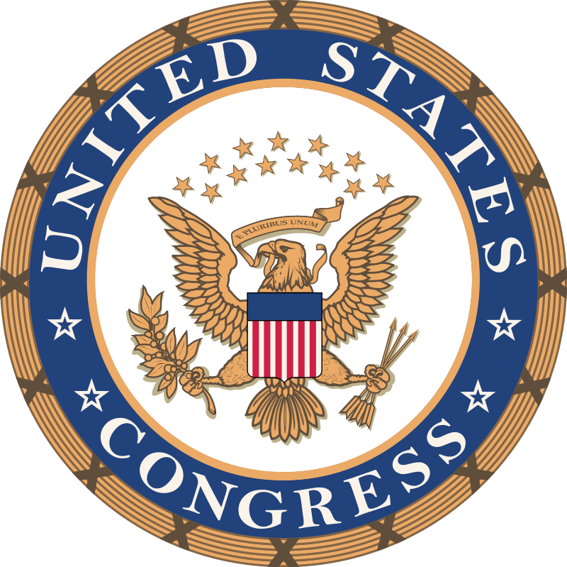 The seal of the U.S. Congress. Credit: Wikimedia Commons.