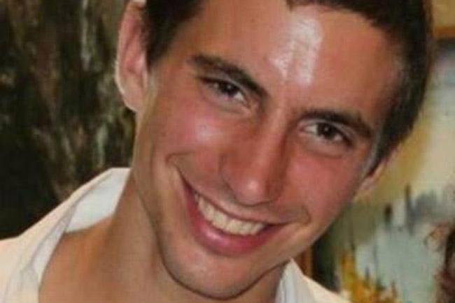 The late IDF Lt. Hadar Goldin. Credit: Facebook.
