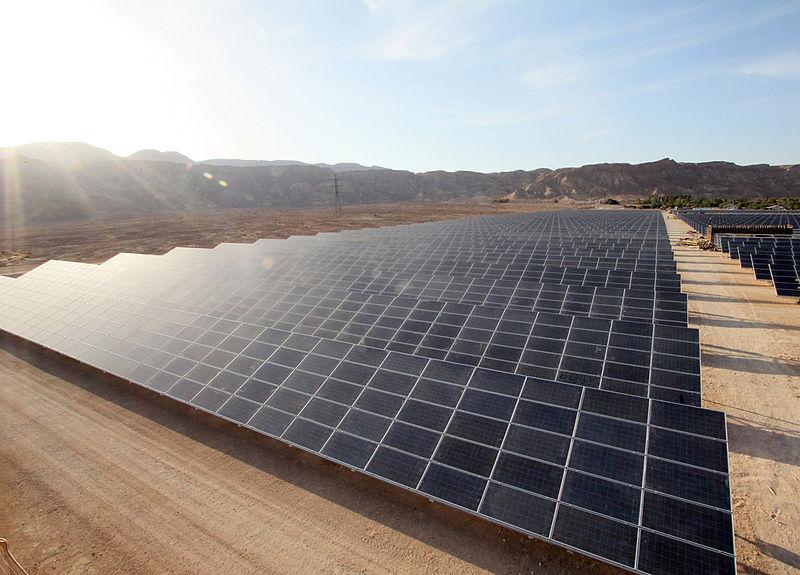 Israel's Ketura Solar Field. Credit: Arava Power Company.
