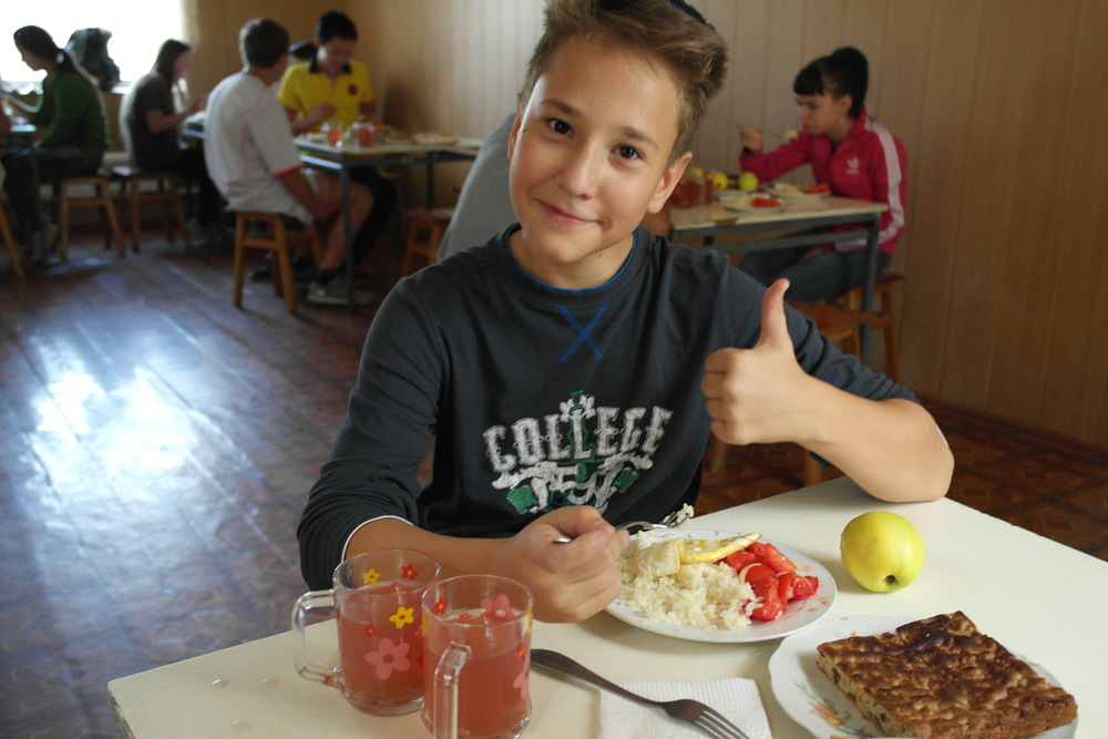 Click photo to download. Caption: Ratibor, the son of Tatiana Elokhina, is pictured at a World ORT school in the former Soviet Union. Credit: Courtesy World ORT.