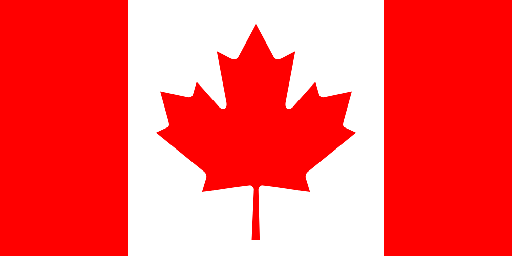 The flag of Canada. Credit: Wikimedia Commons.