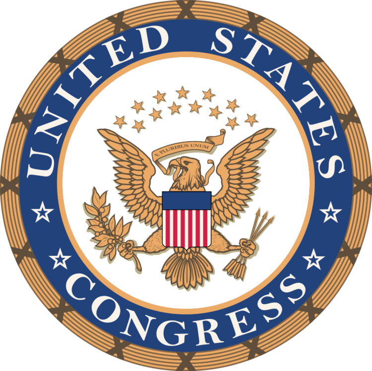 The seal of Congress. Credit: U.S. Congress.
