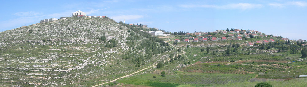 The village of Shiloh in Judea and Samaria. Credit: Wikimedia Commons.