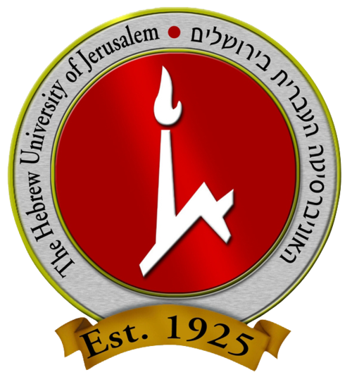The Hebrew University logo. Credit: Wikimedia Commons.