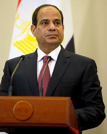 Egyptian President Abdel Fattah El-Sisi. Credit: Wikimedia Commons.
