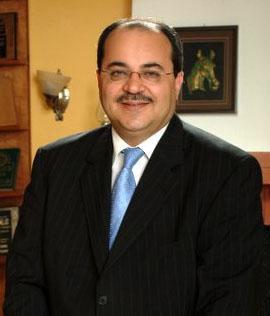 Arab Knesset member Ahmad Tibi. Credit: Wikimedia Commons.