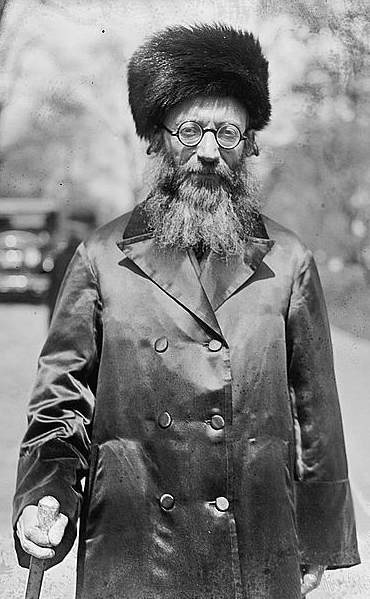 Click photo to download. Caption: Rabbi Abraham Isaac HaCohen Kook. Credit: Wikimedia Commons.