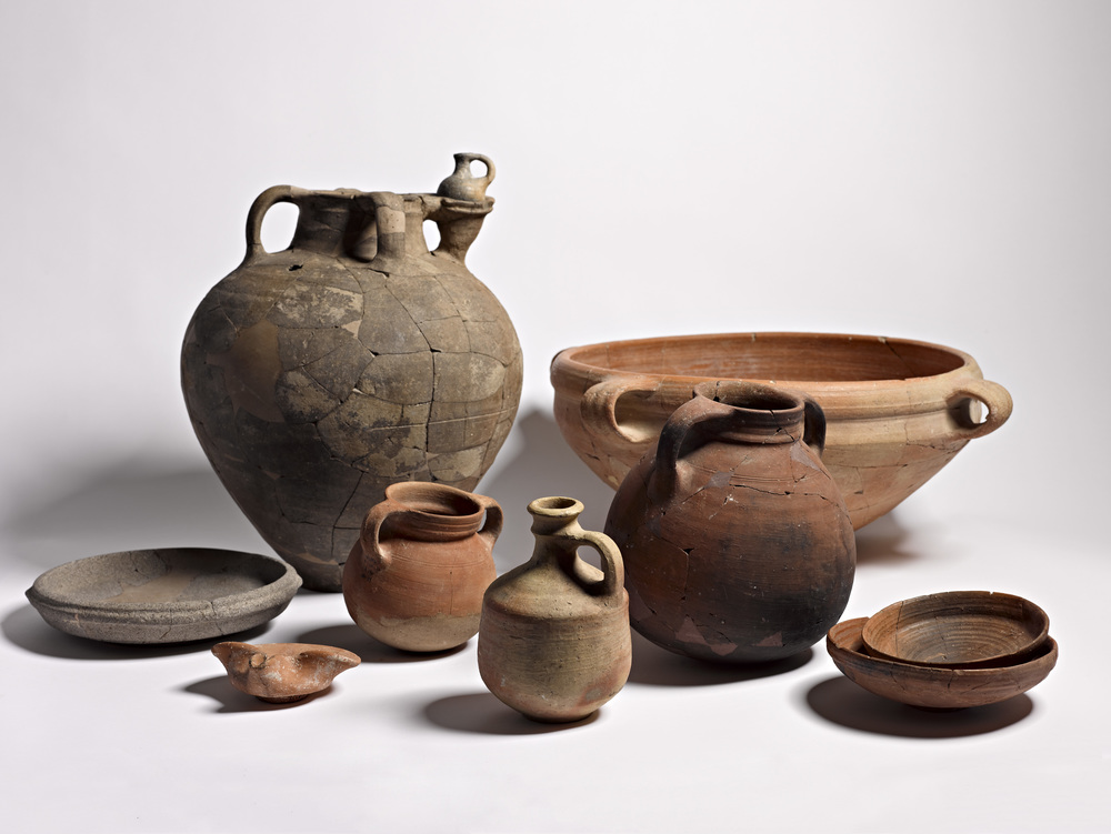 Some of the Israeli artifacts that will displayed at the Museum of the Bible in Washington, DC.Credit:Meidad Suchowolski/Museum of the Bible.