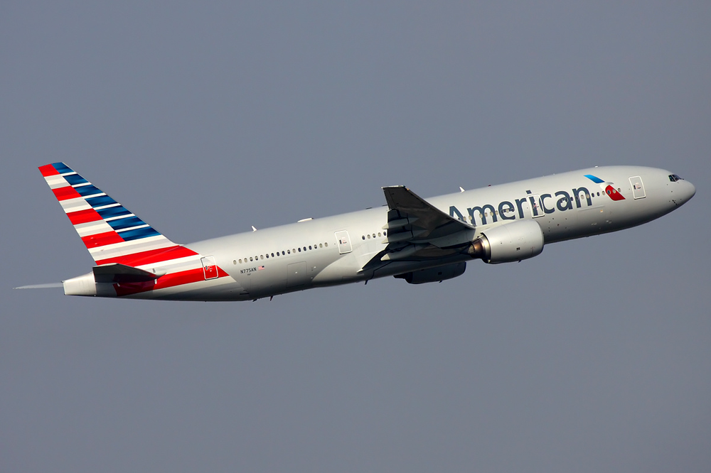 An American Airlines plane. Credit: Wikimedia Commons.