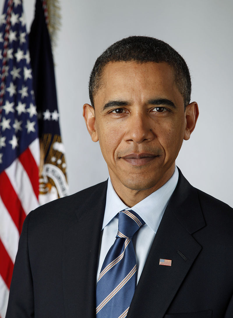 President Barack Obama. Credit: Wikimedia Commons.