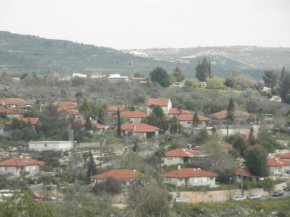 The Jewish community of Kedumim in Samaria located near Sunday's shooting attack. Credit: Wikimedia Commons.