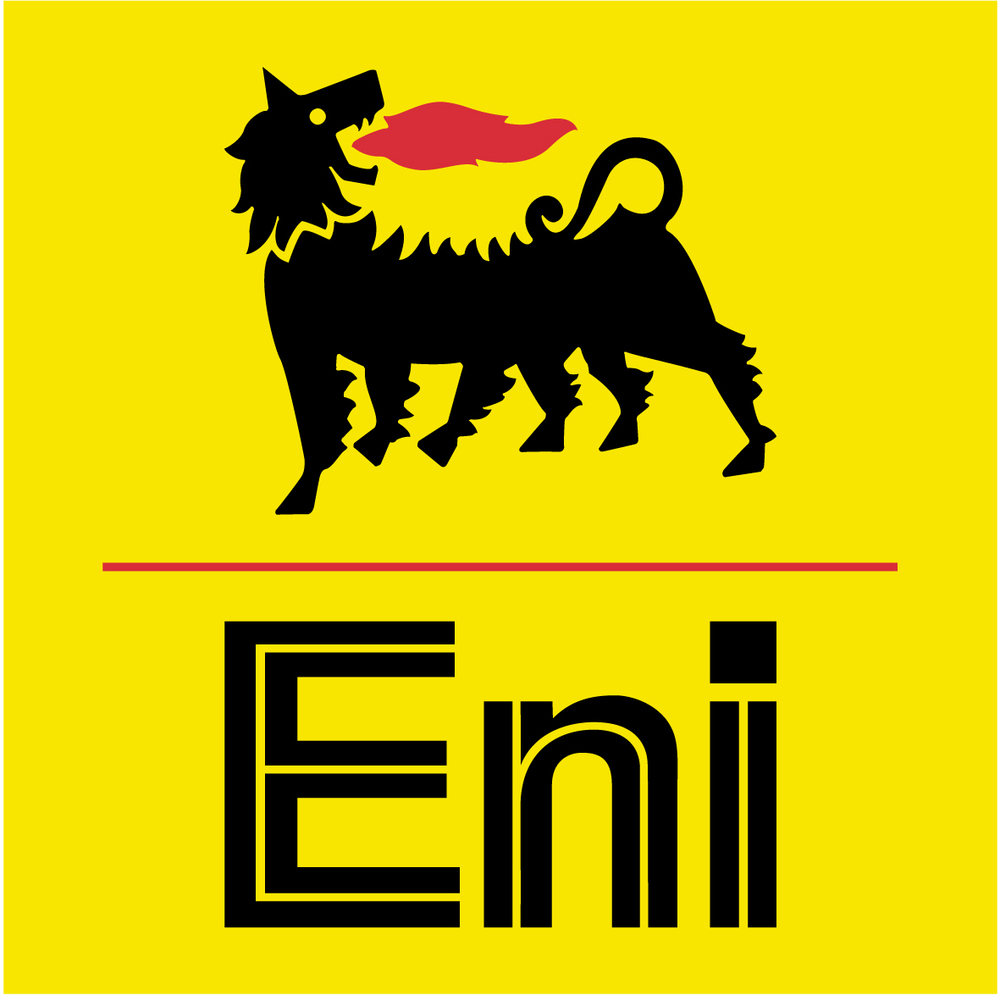 The logo of the Italian energy firm Eni. Credit: Wikimedia Commons.