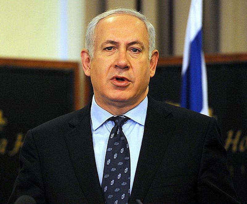 Israeli Prime Minister Benjamin Netanyahu. Credit: Wikimedia Commons.
