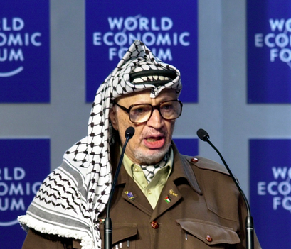 Yasser Arafat. Credit: World Economic Forum.