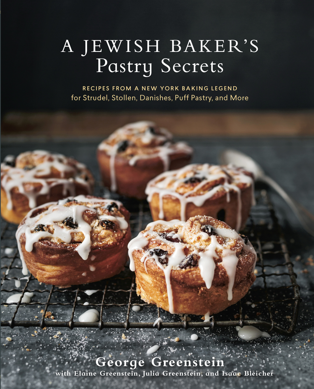 "Click photo to download. Caption: The cover of ""A Jewish Baker's Pastry Secrets."" Credit: Ed Anderson."