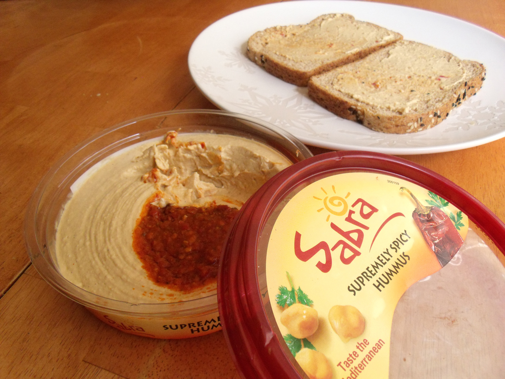 Sabra hummus. Credit:Tanya Patrice via Flickr.com.