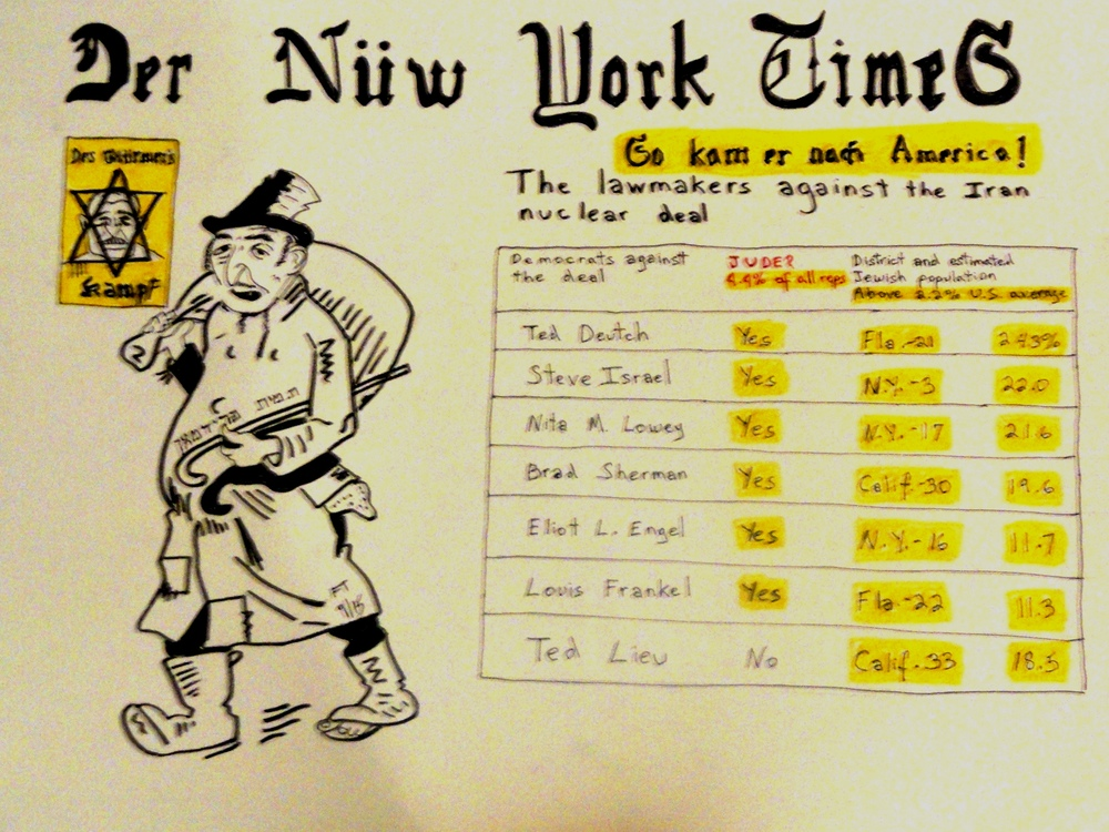 """Der New York Times: All the Statistics That's Fit To Print."" Credit: FeinTooner."