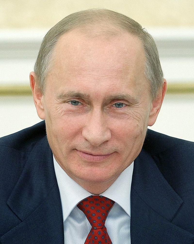 Vladimir Putin. Credit: Kremlin.ru.