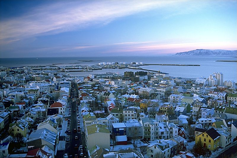 Click photo to download. Caption: Reykjavik, Iceland. Credit: Andreas Tille via Wikimedia Commons.