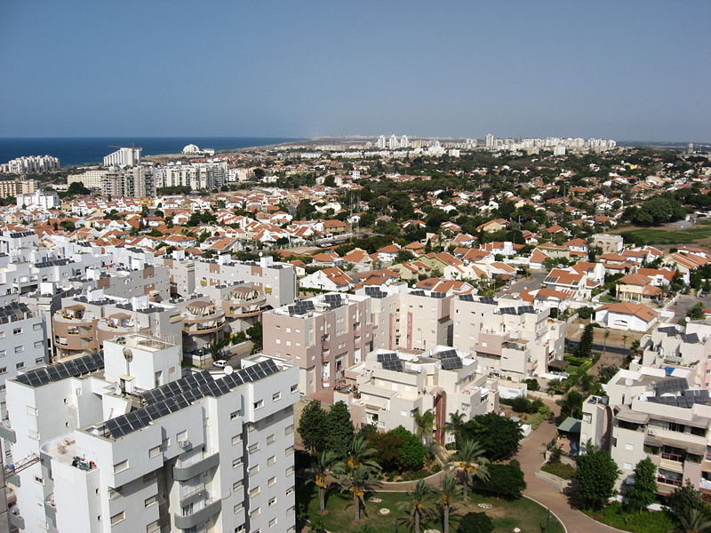 The Ashkelon skyline. Credit: Wikimedia Commons.