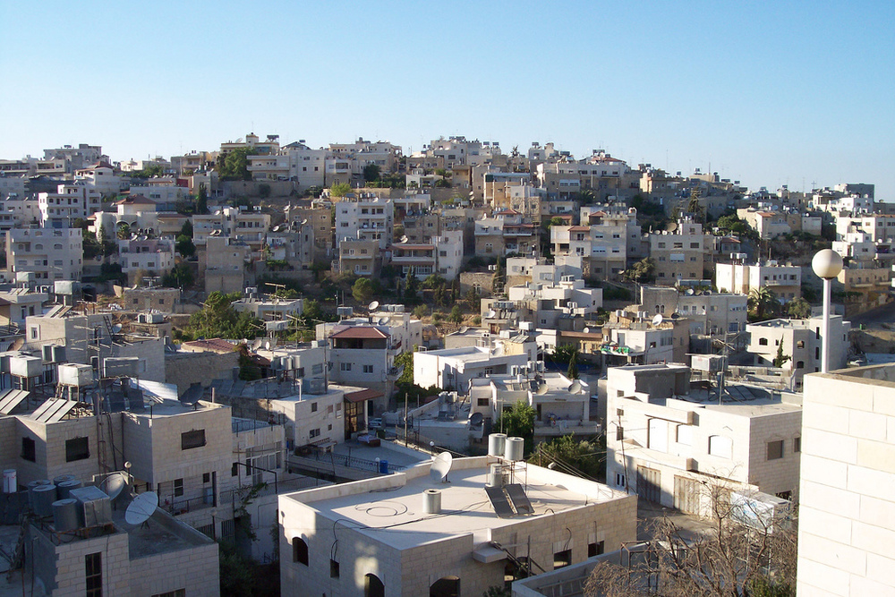 A Palestinian village in the West Bank. Credit: Jeff via Flickr.com.