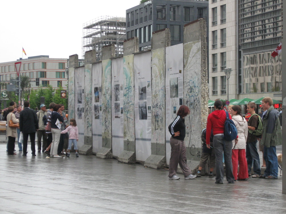 Remnants of the Berlin Wall in Berlin, Germany in 2008. Credit: Alina Dain Sharon.