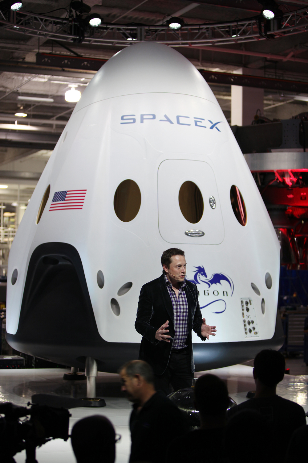 SpaceIL, and Israeli team competing in Google's moon race, has signed a launch deal with the Elon Musk-owned SpaceX (pictured) to launch a rocket to the moon in 2017. Credit: Wikimedia Commons.