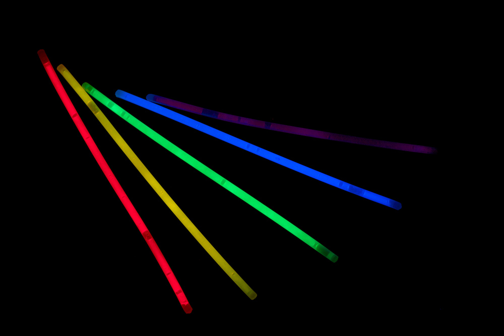 Click photo to download. Caption: Glow sticks. Credit: Phil Shirley via Flickr.