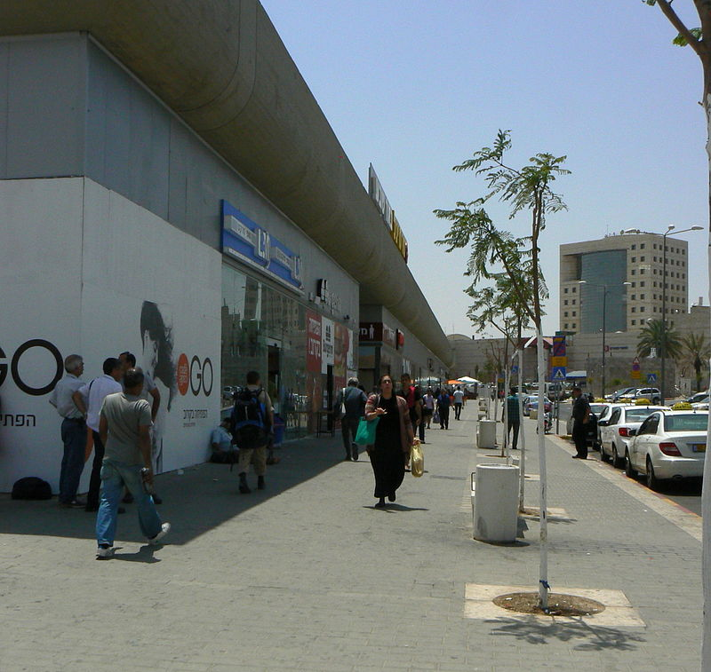 The Beersheba central bus station. Credit: Wikimedia Commons.
