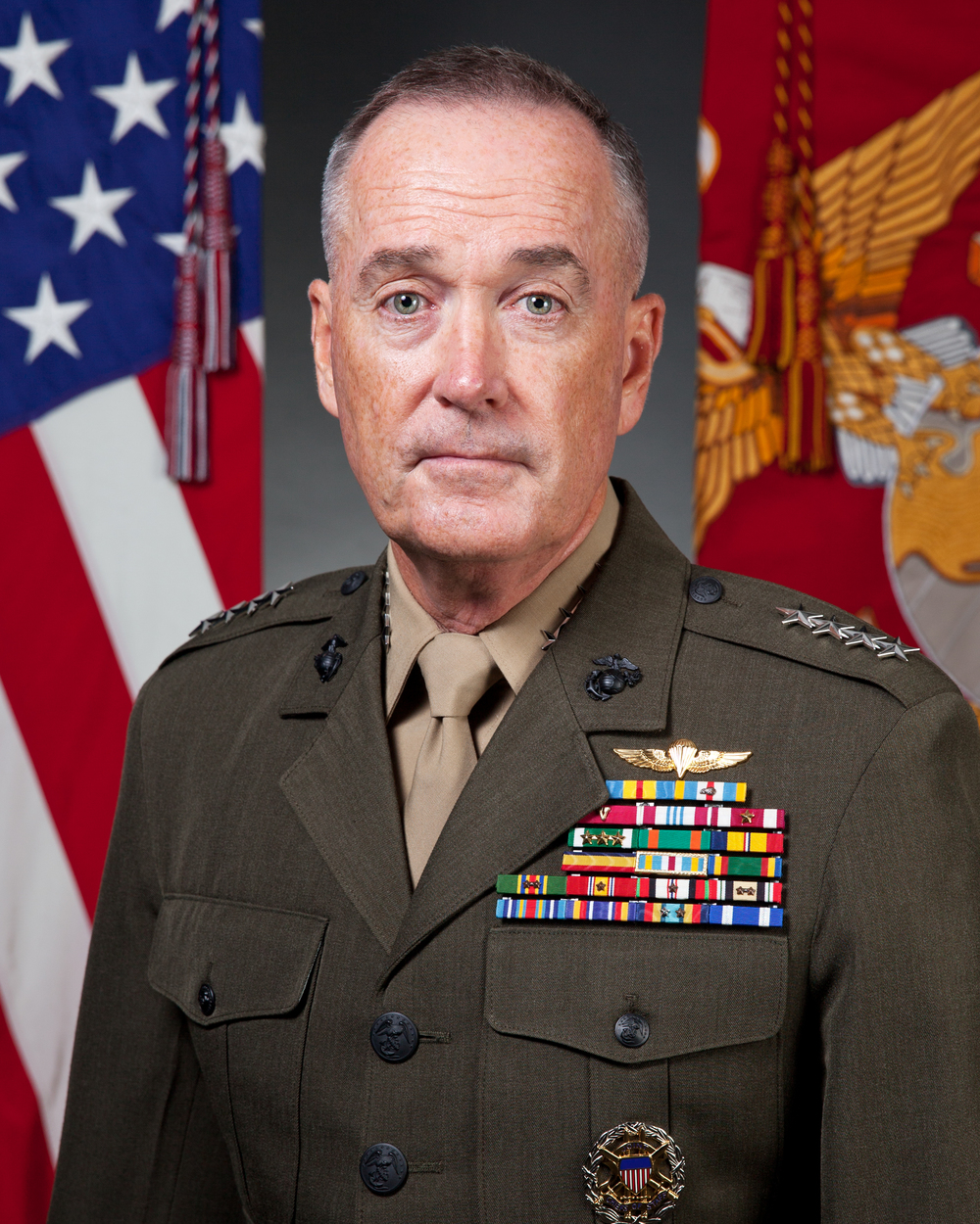 The U.S. Chairman of the Joint Chiefs of Staff Marine Gen. Joe Dunford. Credit: Department of Defense.