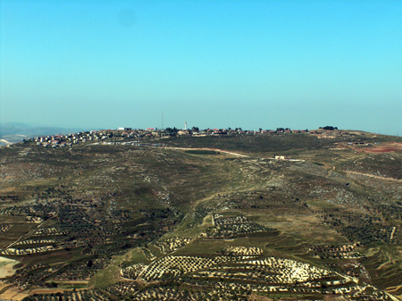 The Samaria community of Yitzhar. Credit: Wikimedia Commons.