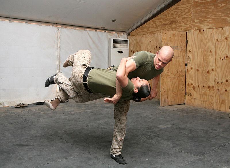 A U.S. Marine Corps martial arts program. Credit: Sgt. Sean McGinty.