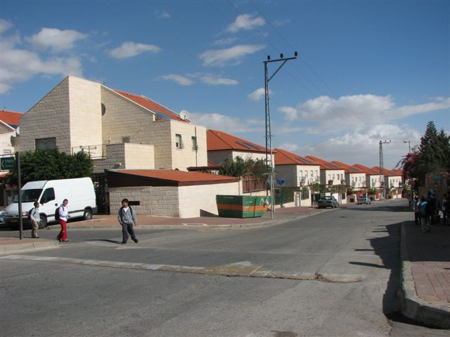 The village of Geva Binyamin in Judea and Samaria. Credit: Wikimedia Commons.