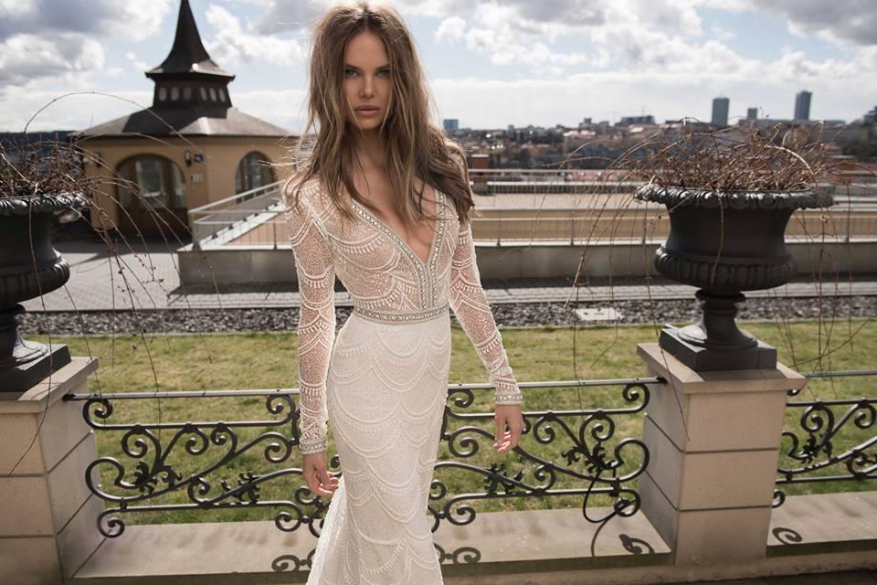Click photo to download. Caption: A Berta Bridal dress. Credit: Berta Bridal via Facebook.