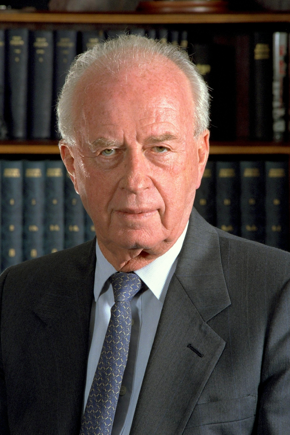 Yitzhak Rabin. Credit: Wikimedia Commons.