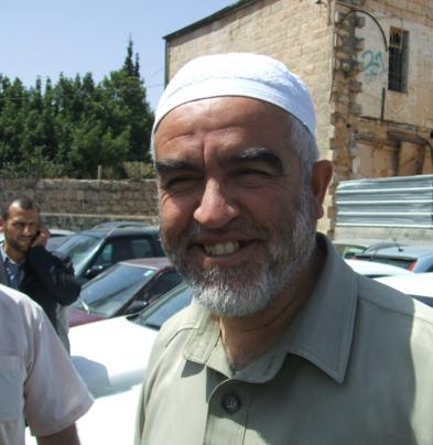 Raed Salah, leader of the Islamic Movement in Israel. Credit: Wikimedia Commons.