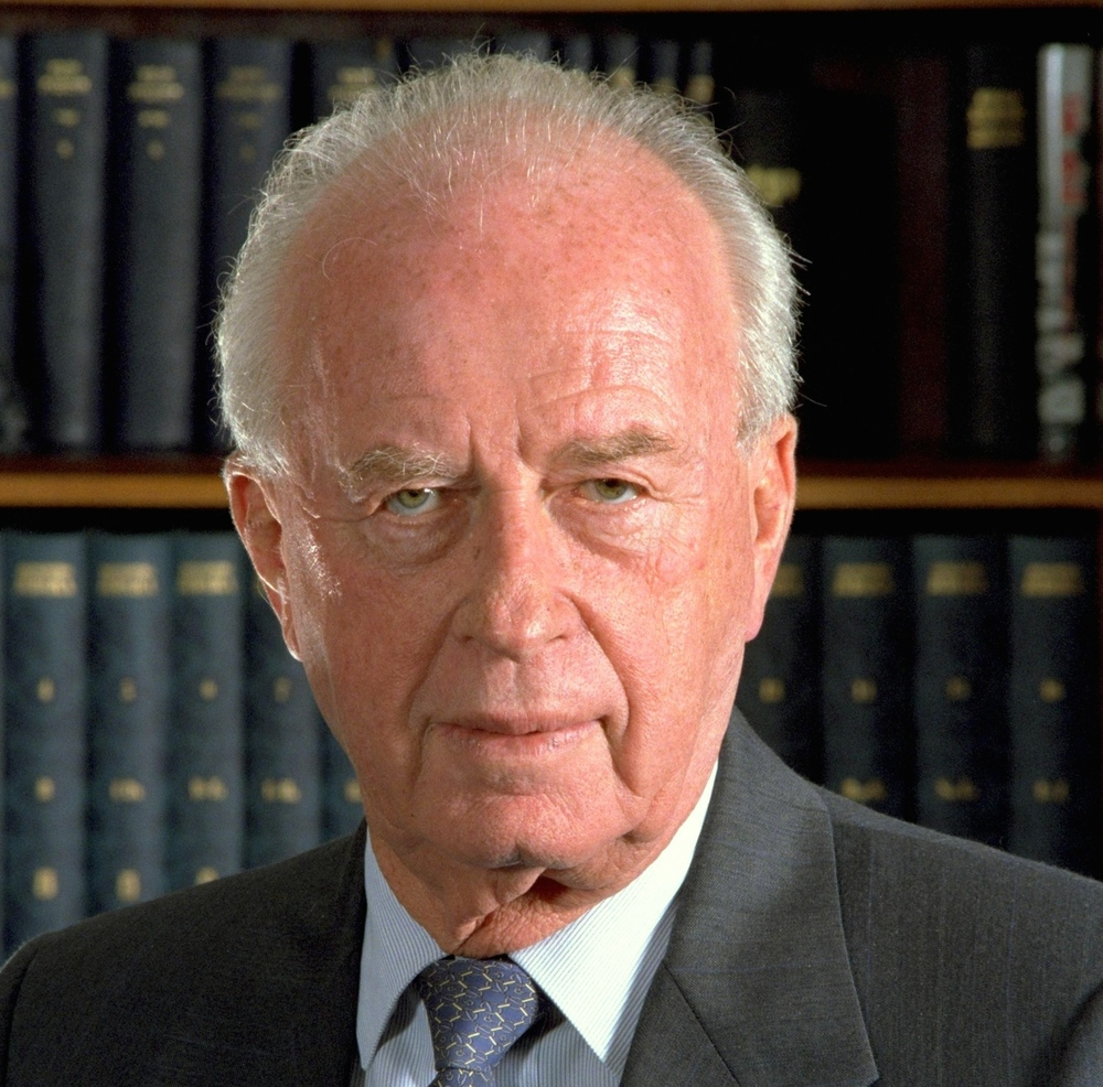 Click photo to download. Caption: Yitzhak Rabin. Credit: Israel Defense Forces via Wikimedia Commons.